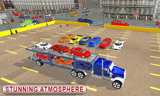 Truck Car Transport Trailer Games - عکس بازی موبایلی اندروید