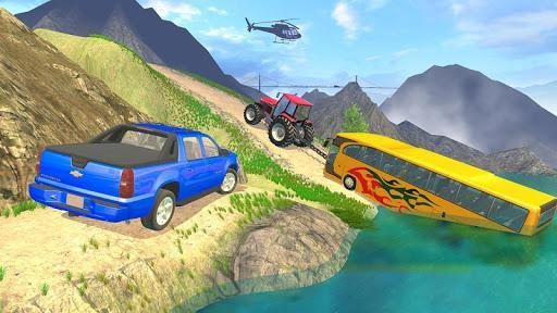 Tractor Pull Simulator Drive: Tractor Game 2021 - عکس بازی موبایلی اندروید