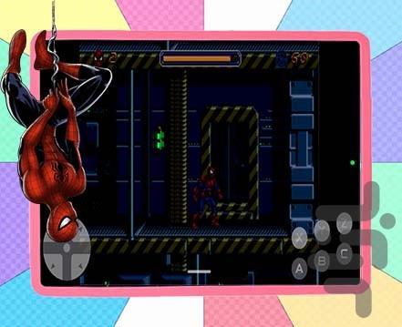 مرد عنکبوتی قهرمان - عکس بازی موبایلی اندروید