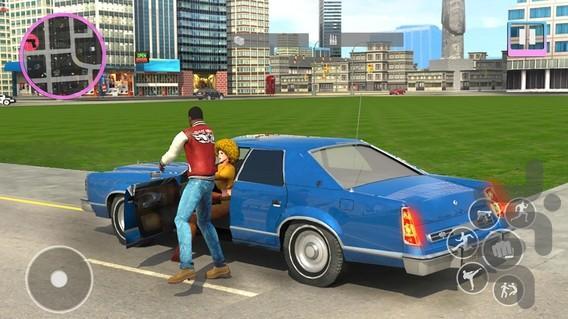 سرقت بزرگ در شهر - عکس بازی موبایلی اندروید