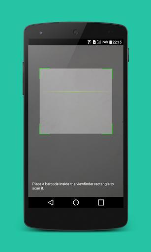 QR & Barcode Scanner - عکس برنامه موبایلی اندروید