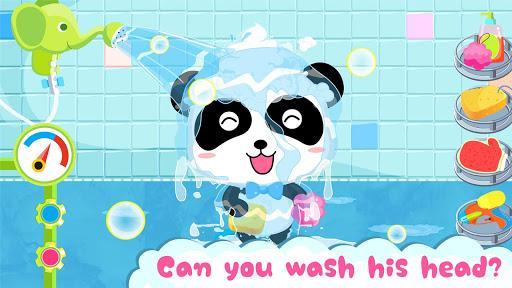Baby Panda's Bath Time - عکس بازی موبایلی اندروید