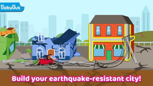 Baby Panda's Earthquake-resistant Building - عکس بازی موبایلی اندروید