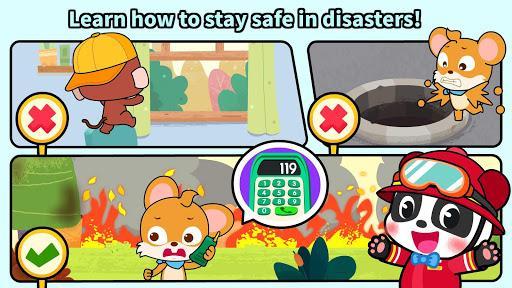 Baby Panda's Fire Safety - عکس بازی موبایلی اندروید