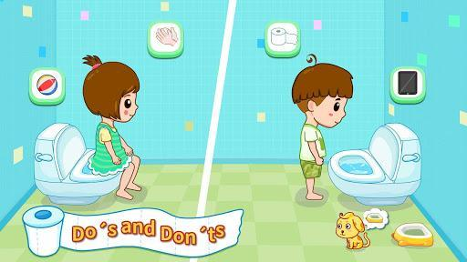 Baby Panda's Potty Training - Toilet Time - عکس بازی موبایلی اندروید