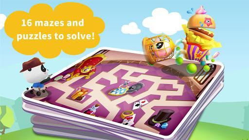Labyrinth Town - FREE for kids - عکس بازی موبایلی اندروید