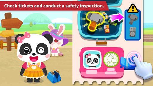 Baby Panda's Train - عکس بازی موبایلی اندروید