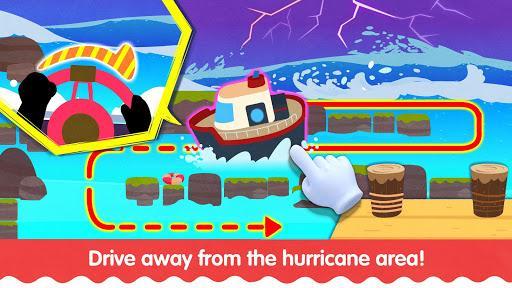 Little Panda's Weather: Hurricane - عکس بازی موبایلی اندروید