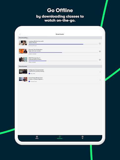 Skillshare  - دورههای آموزشی آنلاین - عکس برنامه موبایلی اندروید
