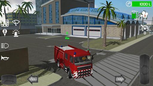 Fire Engine Simulator - عکس بازی موبایلی اندروید