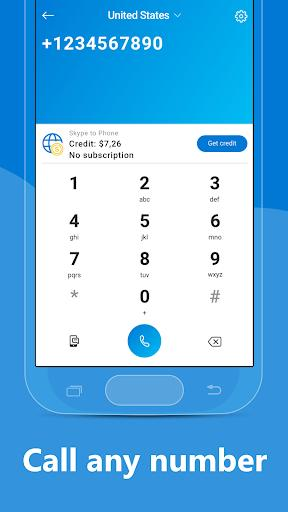 Skype - free IM & video calls - Image screenshot of android app