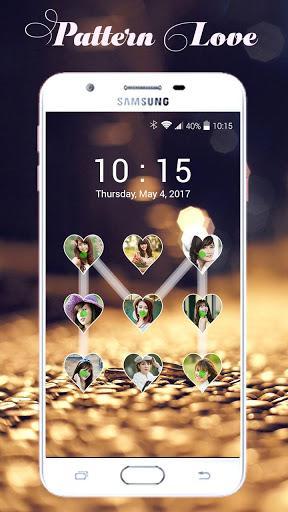 Lock screen pattern photo - عکس برنامه موبایلی اندروید