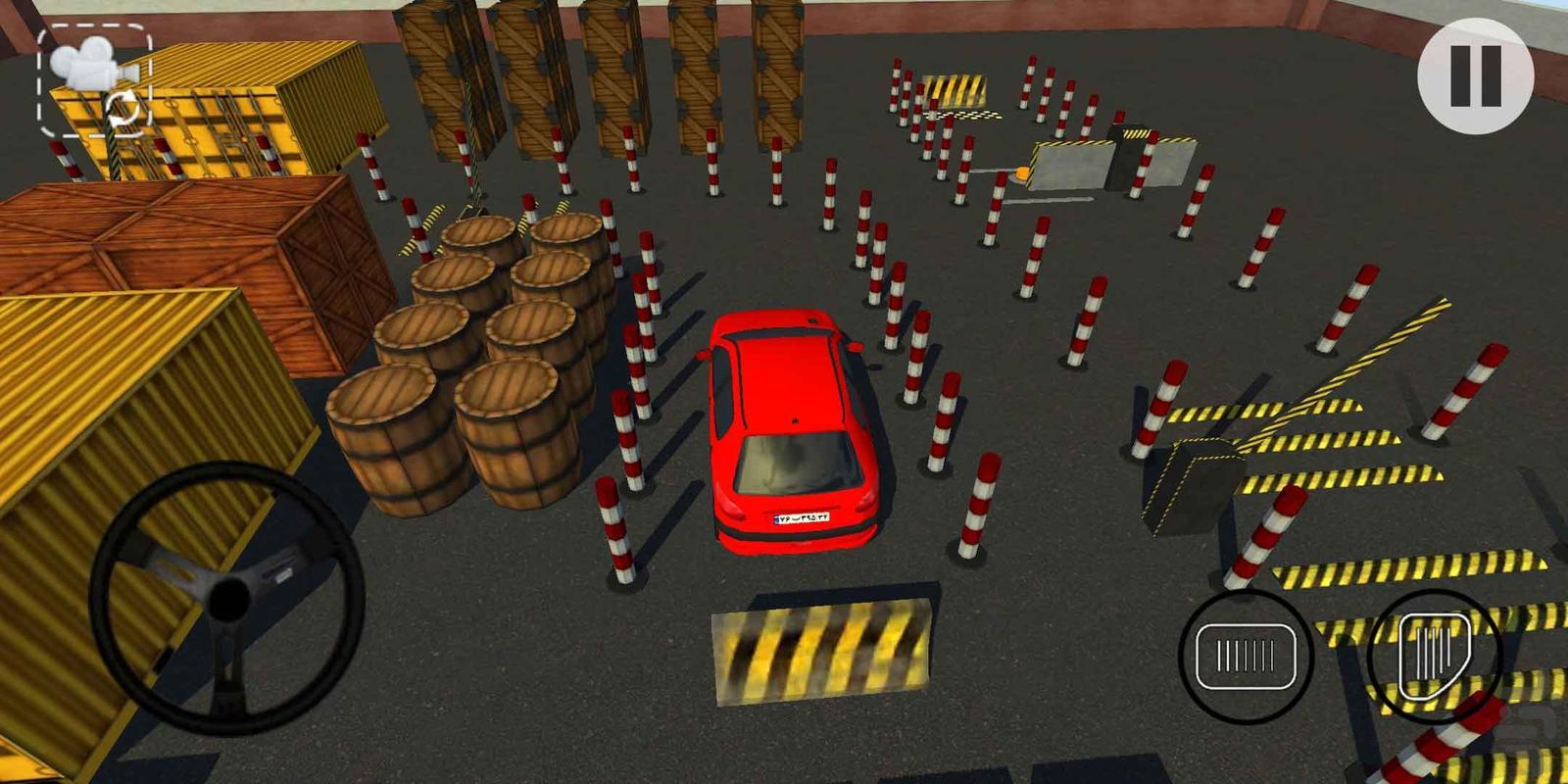 بازی ماشین حرفه ای - عکس بازی موبایلی اندروید