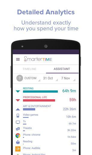 Smarter Time - Time Management - Productivity - عکس برنامه موبایلی اندروید