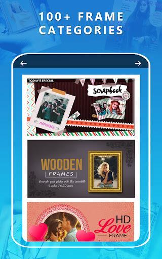 Photo Frames Unlimited - عکس برنامه موبایلی اندروید