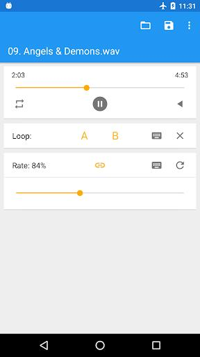 Music Speed Changer (Classic) - عکس برنامه موبایلی اندروید