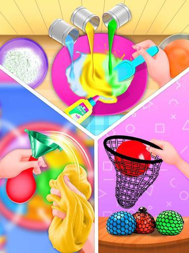 Fidget Toys Game-Anti Stress DIY Slime Games - عکس برنامه موبایلی اندروید