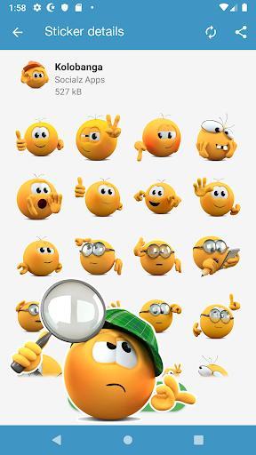 New Stickers & Meme maker - WAStickerApps - عکس برنامه موبایلی اندروید