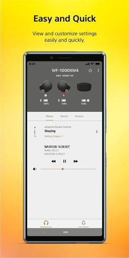 Sony   Headphones Connect - عکس برنامه موبایلی اندروید