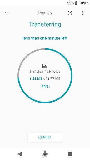 Xperia Transfer Mobile - عکس برنامه موبایلی اندروید