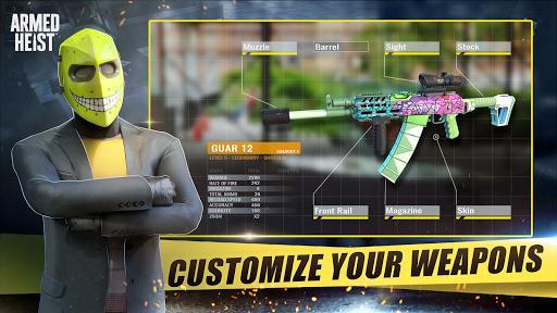 Armed Heist: TPS Multiplayer shooting gun games - عکس بازی موبایلی اندروید