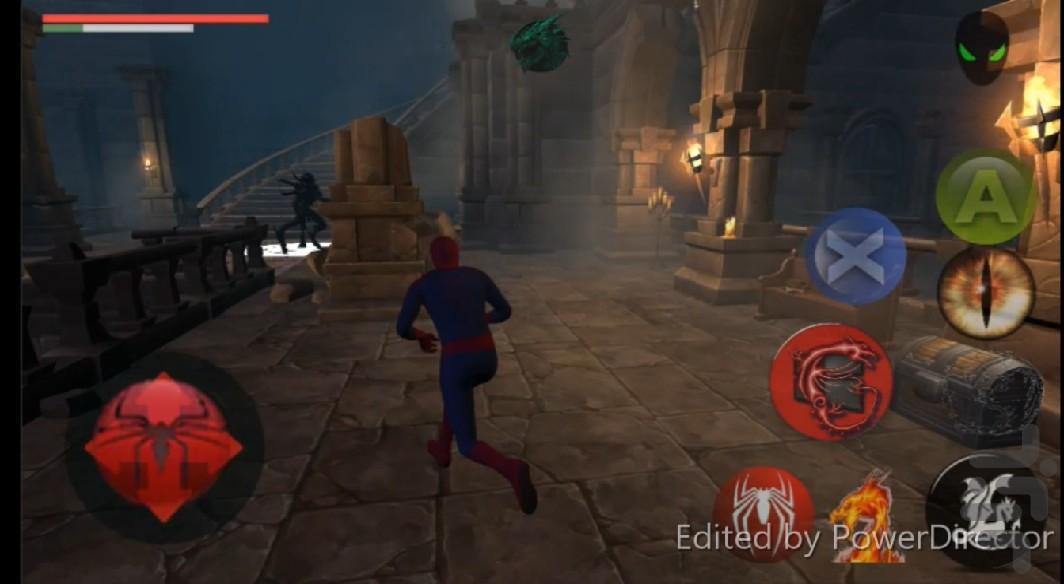 مردعنکبوتی در سرزمین ناشناخته - عکس بازی موبایلی اندروید