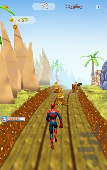 مرد عنکبوتی - عکس بازی موبایلی اندروید