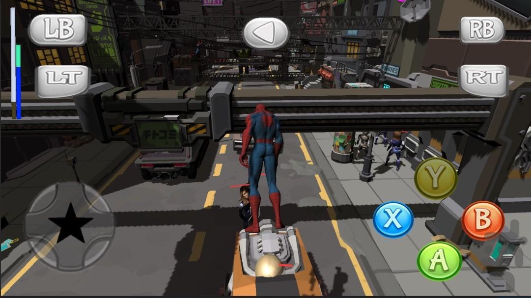 مردعنکبوتی و مردان فضایی ایکس - عکس بازی موبایلی اندروید