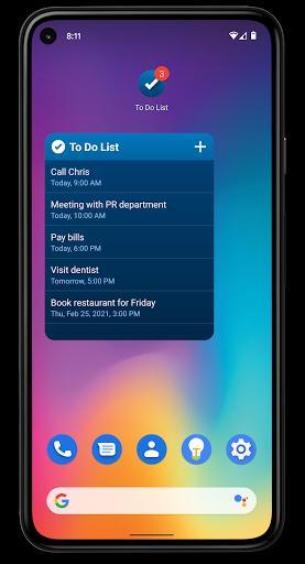 To Do List - عکس برنامه موبایلی اندروید
