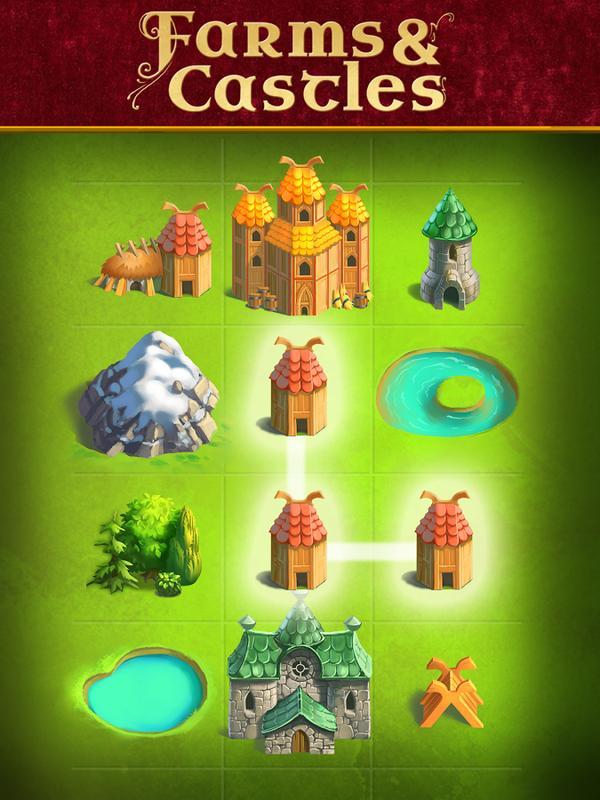 Farms & Castles - عکس بازی موبایلی اندروید