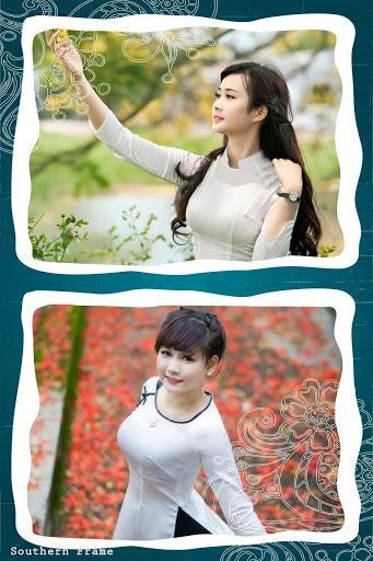 Photo Collage Frame - عکس برنامه موبایلی اندروید