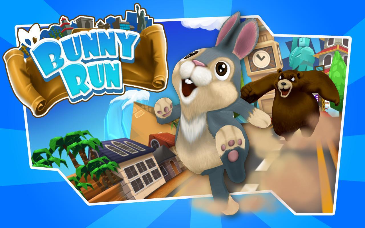 Bunny Run - عکس بازی موبایلی اندروید