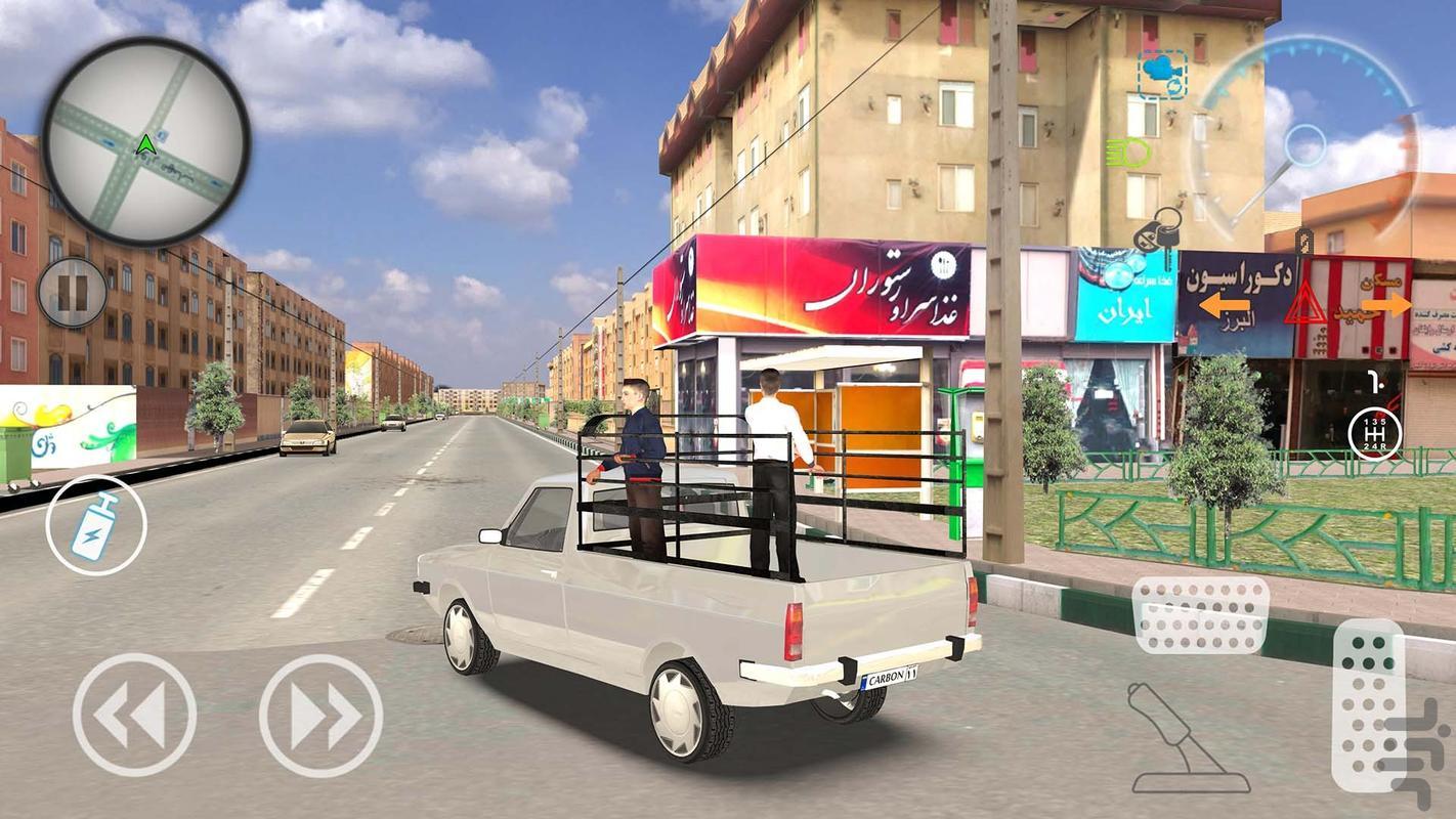 اسپید فور سیتی: پارکینگ&تاکسی&پلیس - عکس بازی موبایلی اندروید