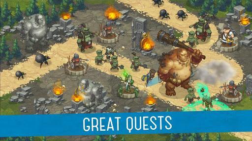Orcs Warriors: Offline Tower Defense - عکس بازی موبایلی اندروید