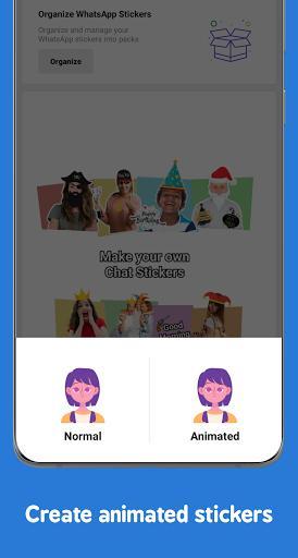 Sticker Maker – استیکر ساز واتساپ - عکس برنامه موبایلی اندروید
