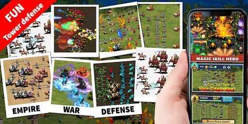StickMan Defense War - Empire Hero & Tower Defense - عکس بازی موبایلی اندروید