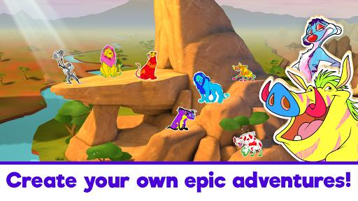 Disney Coloring World - Drawing Games for Kids - عکس بازی موبایلی اندروید