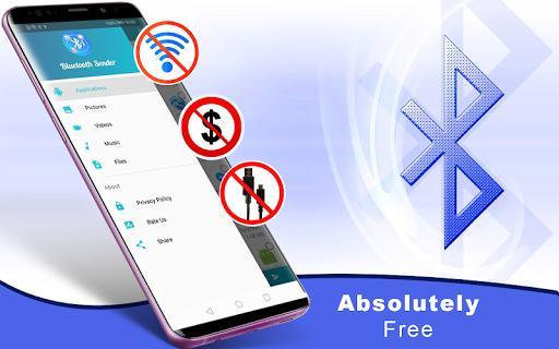 Bluetooth File Sender - Transfer & Share - عکس برنامه موبایلی اندروید