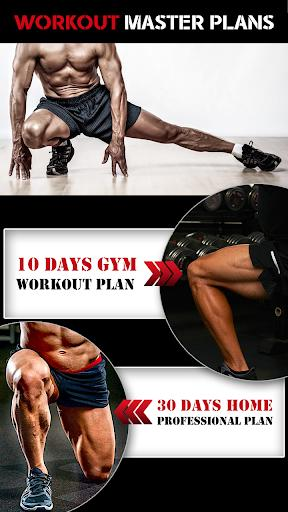 Leg Workout for Men - Thigh, Muscle Fitness 30 Day - عکس برنامه موبایلی اندروید