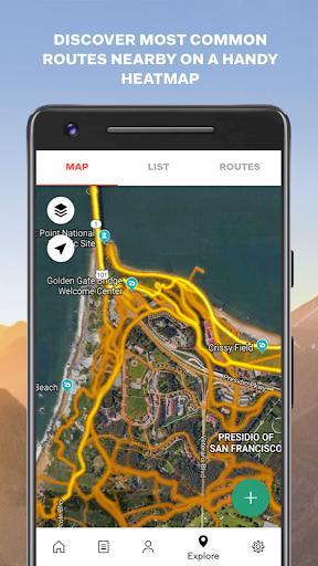 Sports Tracker Running Cycling - عکس برنامه موبایلی اندروید