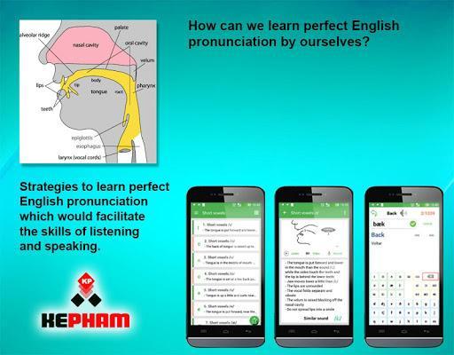 English Pronunciation - عکس برنامه موبایلی اندروید