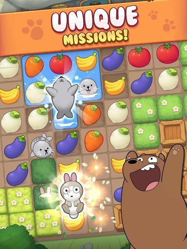 We Bare Bears Match3 Repairs - عکس بازی موبایلی اندروید