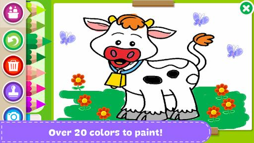 Paint and Learn Animals - عکس برنامه موبایلی اندروید
