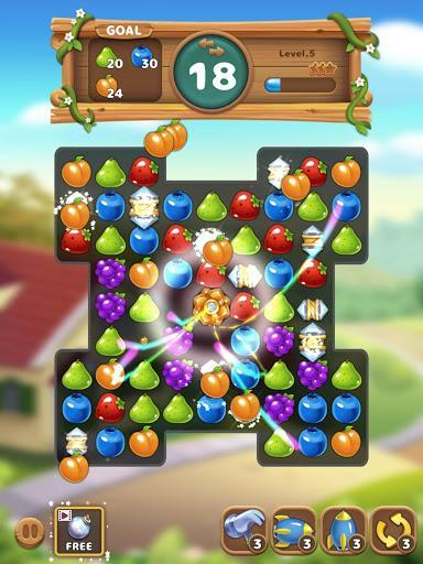Fruits Garden : Link Puzzle - عکس بازی موبایلی اندروید