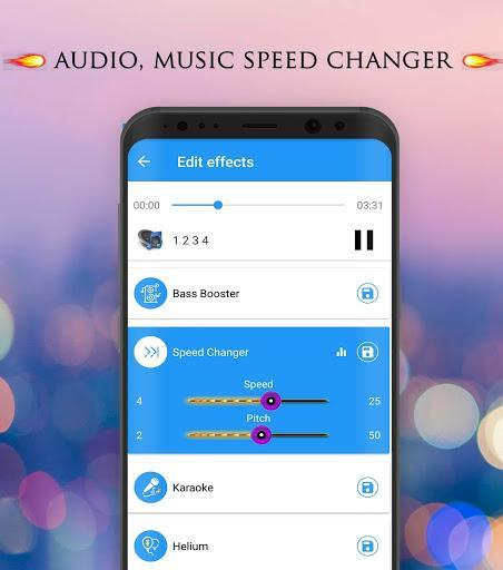 Voice Changer - Audio Effects - عکس برنامه موبایلی اندروید