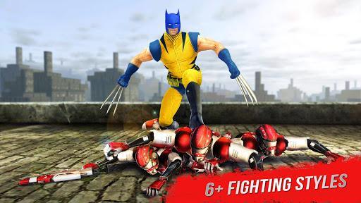 Superhero X Fighting Game - عکس بازی موبایلی اندروید