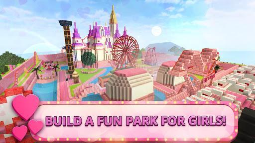 Girls Theme Park Craft: Water Slide Fun Park Games - عکس بازی موبایلی اندروید