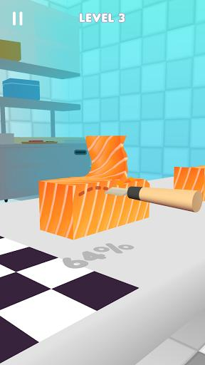 Sushi Roll 3D - Cooking ASMR Game - عکس بازی موبایلی اندروید