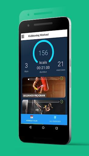 Kickboxing - Fitness Workout and Self Defense - عکس برنامه موبایلی اندروید