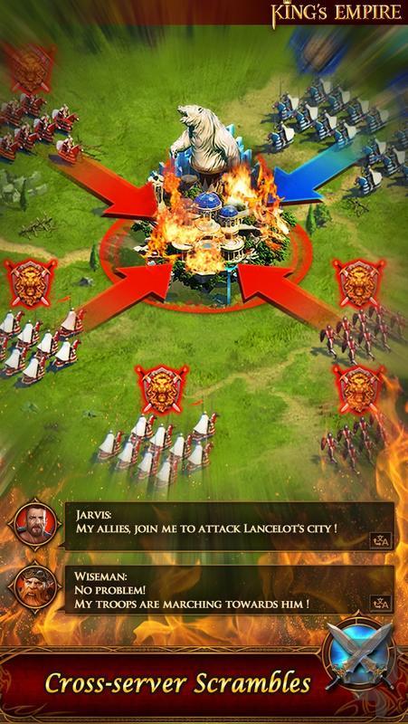امپراطوری پادشاه - عکس بازی موبایلی اندروید